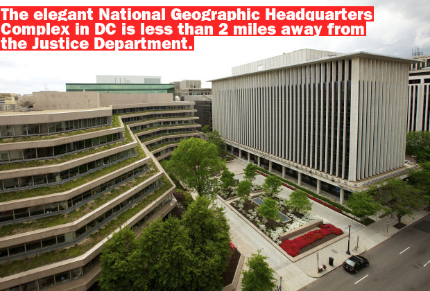 IMAGE IS FOR YOUR ONE-TIME EXCLUSIVE USE. NO SALES, NO TRANSFERS.  ©Rebecca Hale/National Geographic  National Geographic Headquarters, Washington, D.C. Spring 2011.