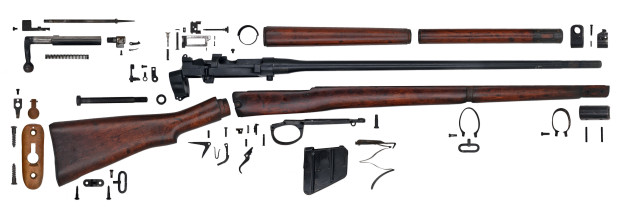 Gun Anatomy British No4 Mk I Enfield