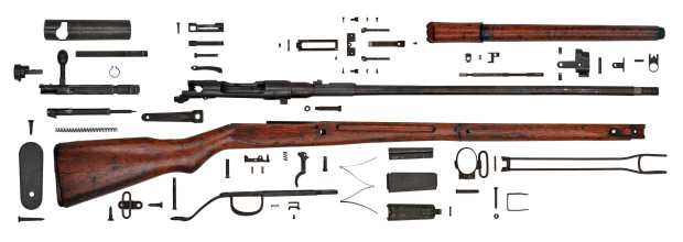 Gun Anatomy Japanese Arisaka