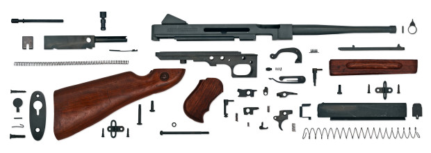 Gun Anatomy US Thompson M1A1