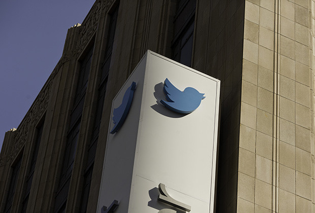 The Twitter headquarters on Market Street in San Francisco, Calif., Wednesday, October 9, 2013.   Jason Henry / Corbis