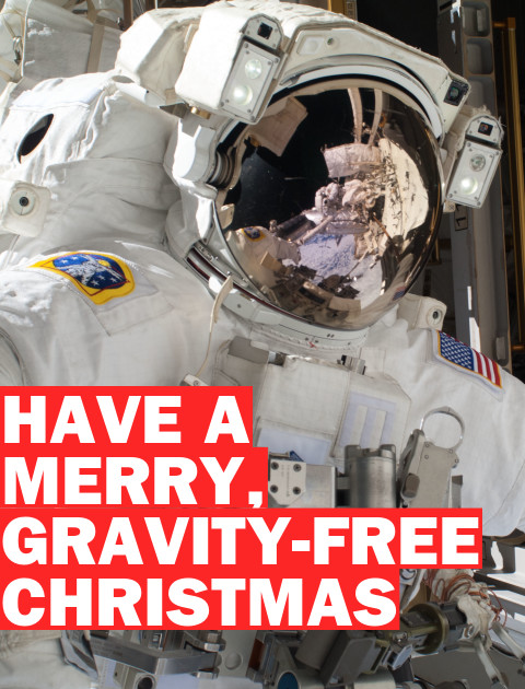 Merry Christmas Eve… in Space