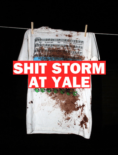 Shit Storm at Yale as Feces Fairy Strikes Prestigious Campus Again