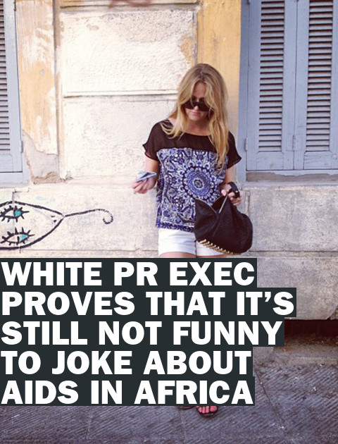 """I'm White!"" PR Exec and ""Troublemaker"" Loses Gig Over Saucy Tweets"