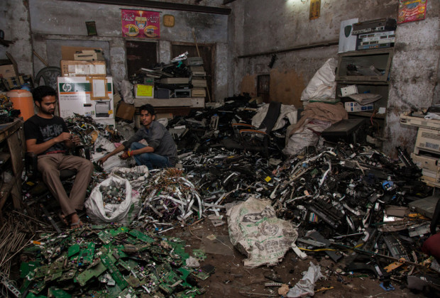 New Delhi: India: 2013 Delhi's well-established e-waste scrap yards are some of the largest in Asia, a source of income for as many as 150,000 people