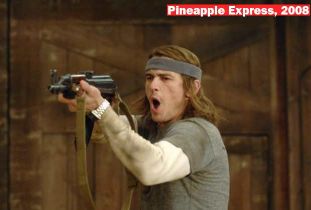 PINEAPPLE EXPRESS, James Franco, 2008, © Columbia