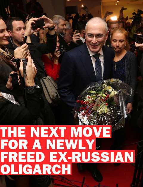 What Will Mikhail Khodorkovsky Do Next?