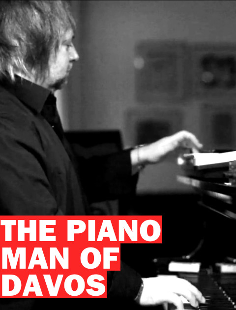 The Piano Man of Davos