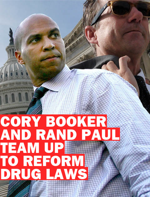 It's Official: Senators Booker, Paul Are Working Together on New Drug Law