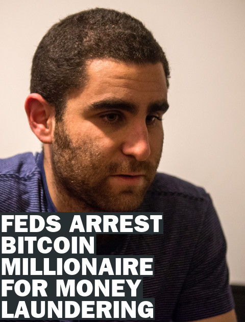 Bitcoin Millionaire Charlie Shrem Arrested For Money Laundering, Drug Buying