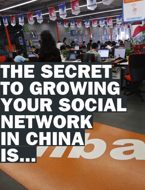 How to Grow a Social Network in China