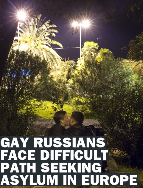 Gay Russians Seeking Asylum in Europe Face Harsh Reality