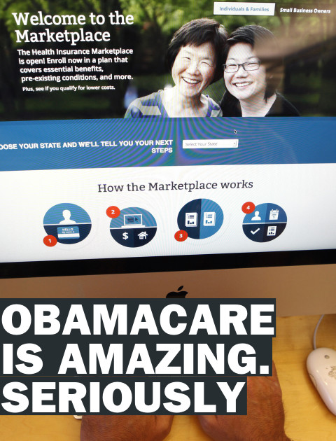 Obamacare Is Actually Good. No, Really