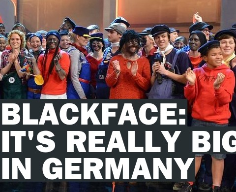Germany Racist Costum Poster
