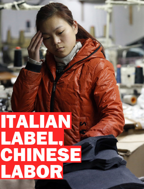 China, Chines migrants, Italy, fashion industry, Prato
