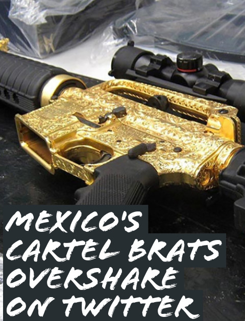 Mexico's Cartel Brats Brag About Themselves on Social Media
