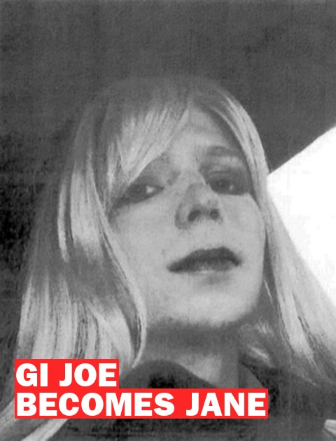 G.I. Joe turns Jane: Bradley Manning wants to be a woman, but will the military pay for it?