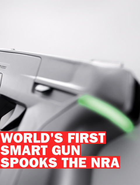 Why Is the NRA Scared of Smart Guns?