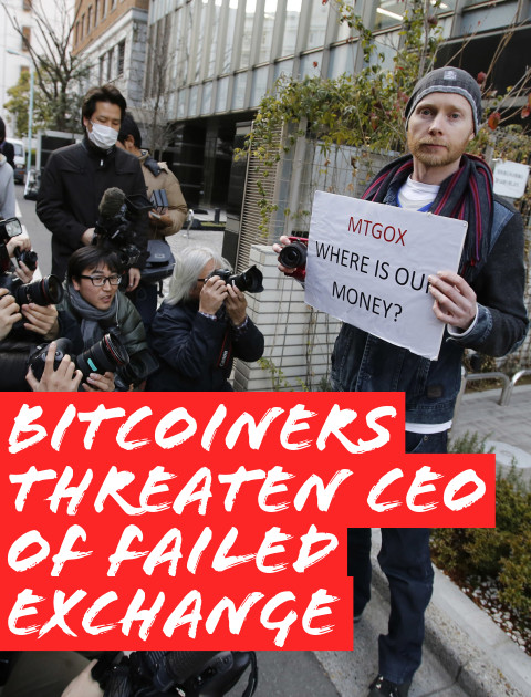 Angry Bitcoiners Are Threatening the Founder of Mt. Gox