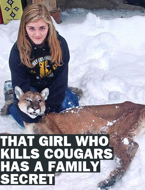 Clan of the Cougar Slayers: A Young Girl's Family Secret