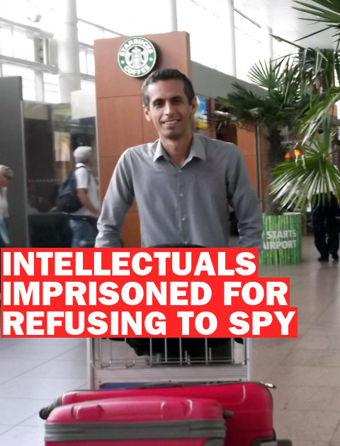 Convicted of Spying for Refusing to Spy