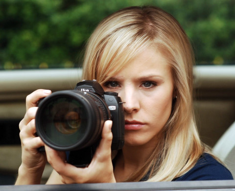 Crowdfunded Veronica Mars Poster