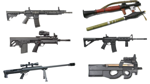 GUNS AVAILABLE VIA ARMORY