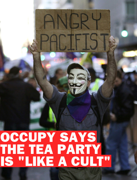 """The Tea Party Is Like a Cult"": A Q&A With One of Occupy Wall St.'s Leaders"