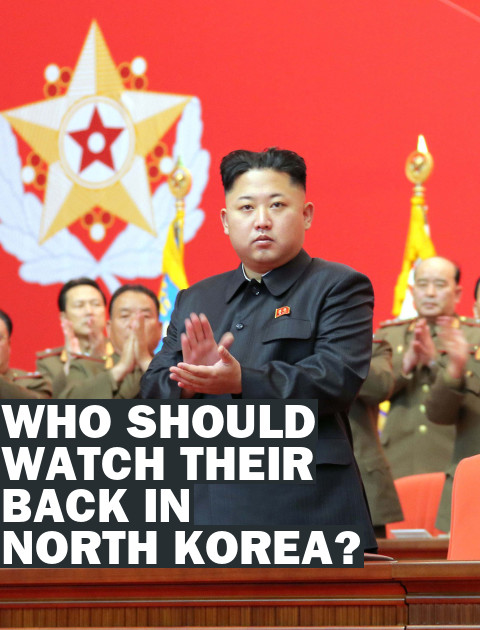 Who Now Needs to Watch Their Back in North Korea