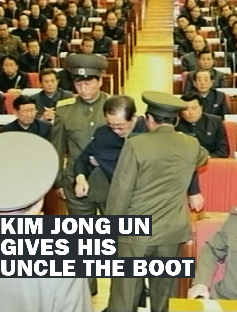 Purged: Pictures of a North Korean Leader Being Dragged Away