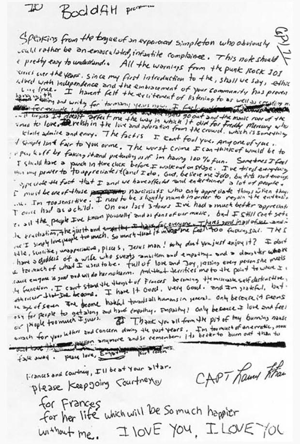 Kurt Cobain Suicide Crime Scene Photos Kurt cobain conspiracy_04