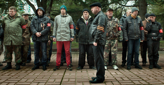 Are These Men Crimea's Saviors or Putin's Thugs?