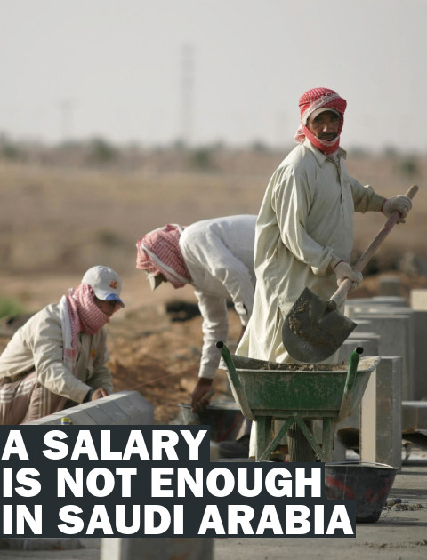 Saudi Arabia's #salaryisnotenough movement turns its anger toward foreign-born workers