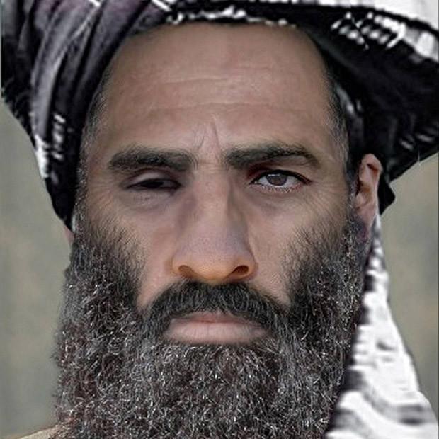 PravdÏpodobn· podoba öÈfa Talibanu mully Muhammada Umara;taliban, umar (04.11.2011)