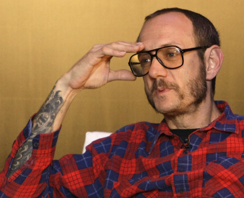 Photographer Terry Richardson attends a presentation of the 2010 Pirelli calendar in London November 19, 2009.     REUTERS/Stefan Wermuth (BRITAIN ENTERTAINMENT) - RTXQX4N