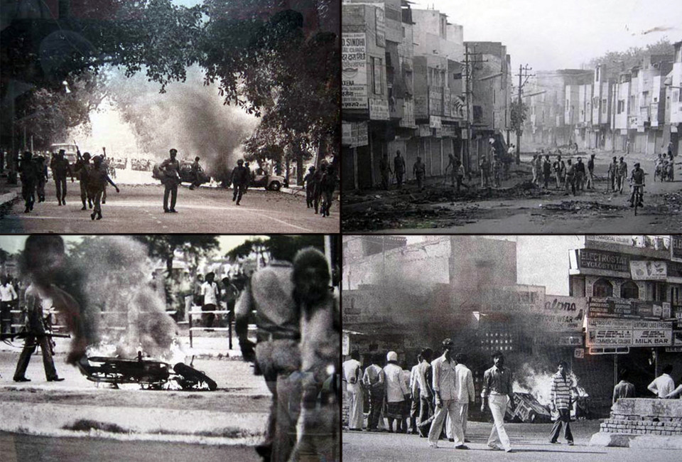 The 1984 anti-Sikhs riots was a riot directed against Sikhs in India, by anti-Sikh mobs, in response to the assassination of Indira Gandhi by her Sikh bodyguards, there were more than 3000 deaths.