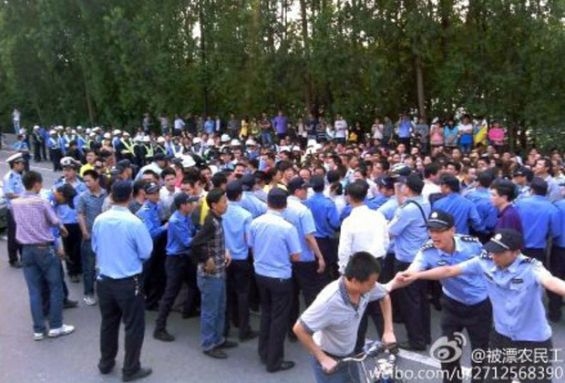 China Strike Protest_01