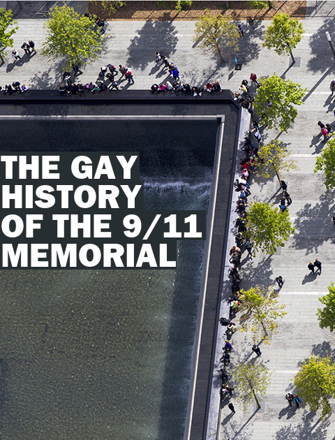 The Accidental Gay History of the 9/11 Memorial