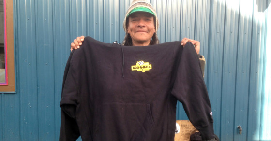 """Hoodies for Hobos"" Outreach Campaign Turns Homeless Into Walking Banner Ads"