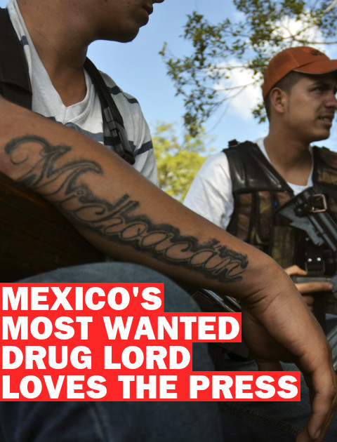 Mexico's New Most Wanted Drug Lord Loves the Press
