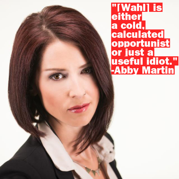 RT Host Fight Abby Martin