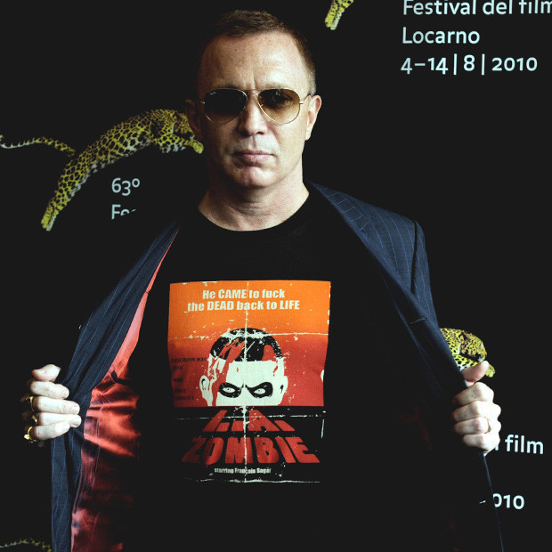 Bruce LaBruce, director of the competing movie 'LA.Zombie' poses for photographers during a photocall of the 63rd Film Festival in Locarno (Festival del film Locarno) August 5, 2010.