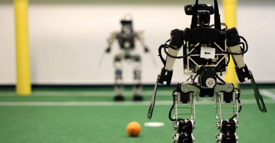 Could Robots Someday Win the World Cup?