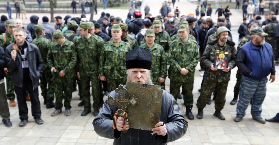 Face-Off in Ukraine's Eastern Provinces