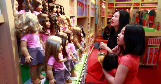American Girl Kills Off Asian, Black Dolls