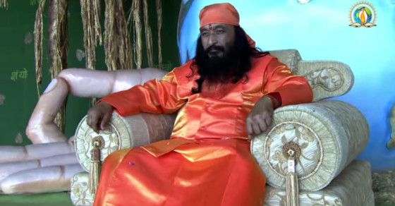 Is This Guru Dead or Meditating?