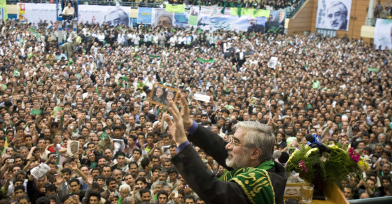 A Rallying Cry on Facebook for Iran's Ailing Opposition Leader