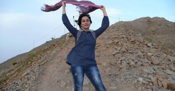 A Great Unveiling: Iranian Women Ditch Their Head Scarves on Facebook