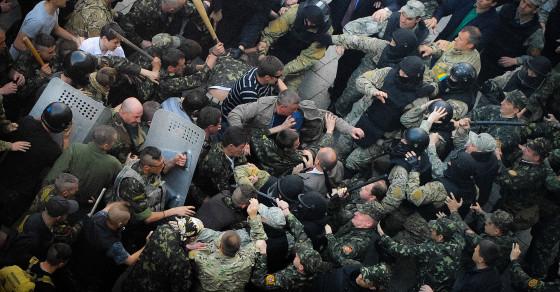 New Front Opens in Battle Over Ukraine