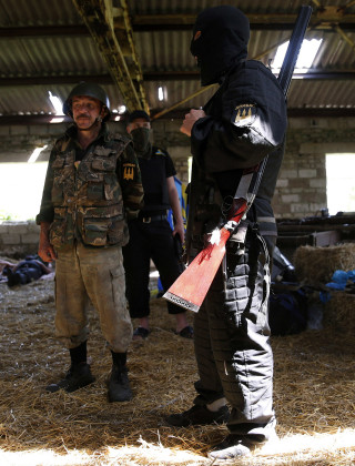 Ex-Military Crowdfunds Training for Ukrainian Troops